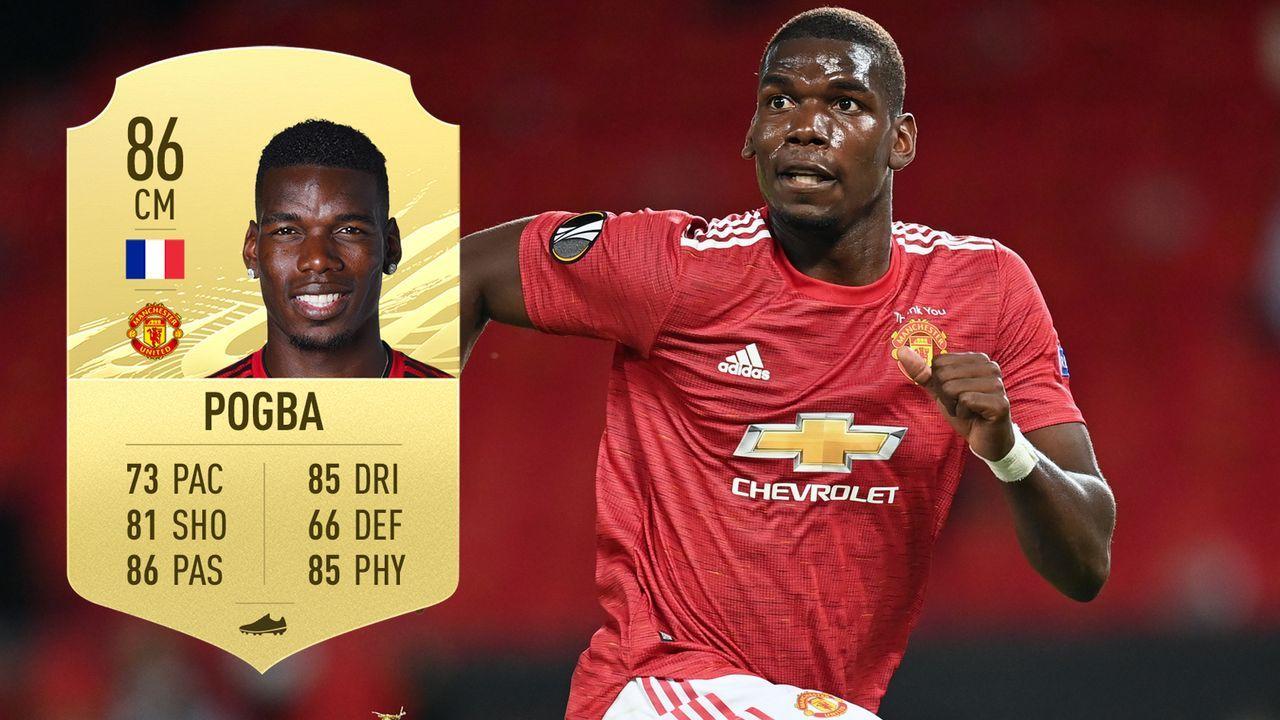 Paul Pogba (Manchester United/Frankreich) - Bildquelle: 2020 Getty Images/EA Sports
