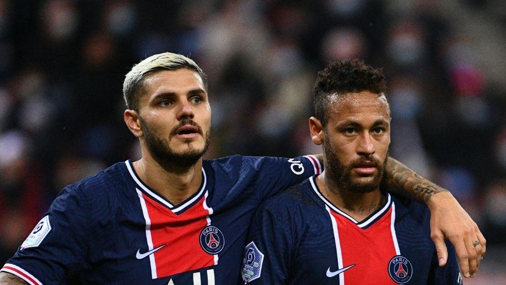 Icardi (l.) traf gegen Stade Reims doppelt - Bildquelle: AFPSIDFRANCK FIFE