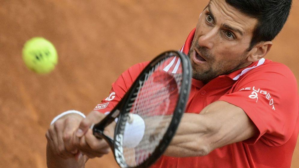 Novak Djokovic steht im Finale von Belgrad - Bildquelle: AFPSIDFILIPPO MONTEFORTE
