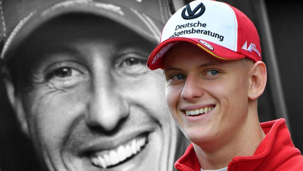 Wie der Vater so der Sohn? Mick Schumacher will schon wie sein Papa Michael ... - Bildquelle: imago
