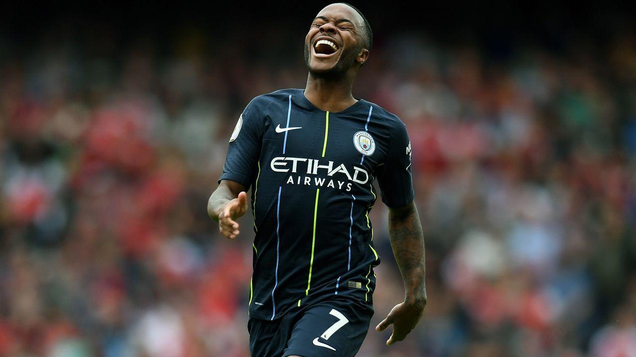 Platz 4 - Raheem Sterling (Manchester City) - Bildquelle: 2018 Getty Images