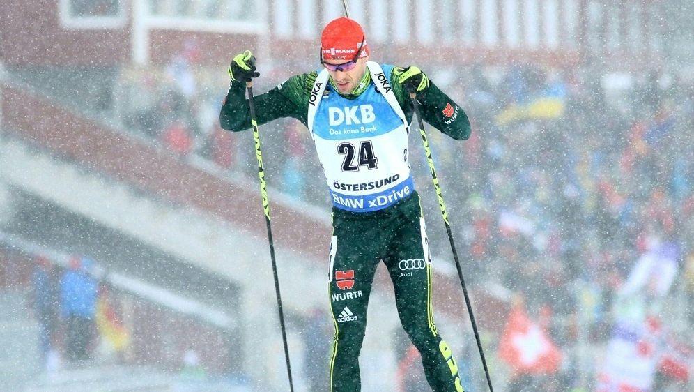 Arnd Peiffer steht vor seinem Weltcup-Einstand - Bildquelle: PIXATHLONPIXATHLONSID