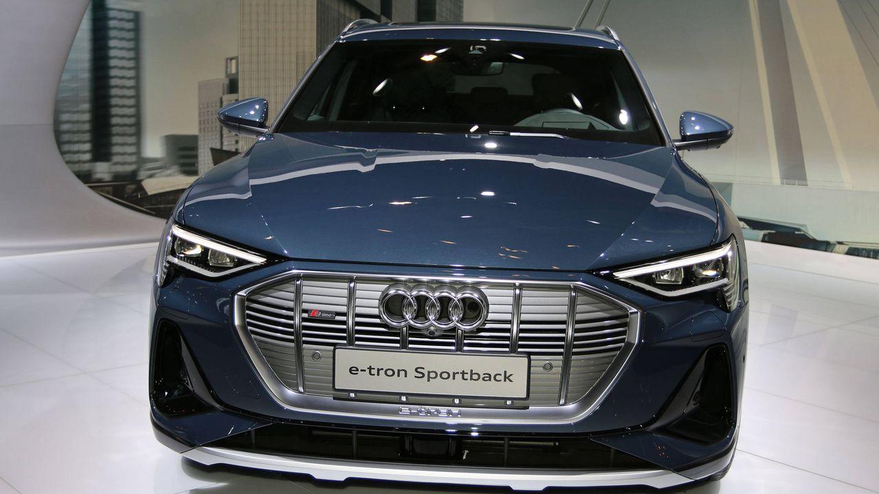 5. Audi e-tron Sportback 55 quattro  - Bildquelle: imago images/Sebastian Geisler