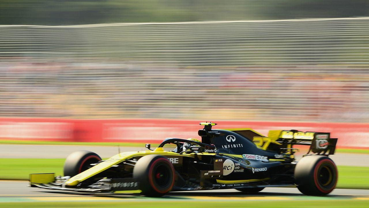 Nico Hülkenberg hat mit Renault noch viel Arbeit vor sich! - Bildquelle: 2019 Getty Images