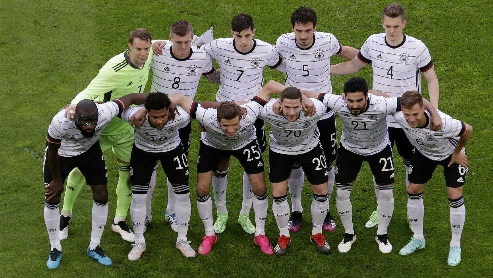 """DFB-Slogan """"Die Mannschaft"""" bleibt ein Reizthema - Bildquelle: AFPPOOLSIDTHILO SCHMUELGEN"""