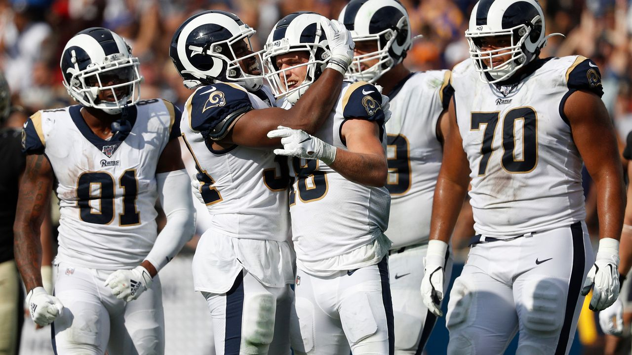 Platz 6: Los Angeles Rams  - Bildquelle: 2019 Getty Images