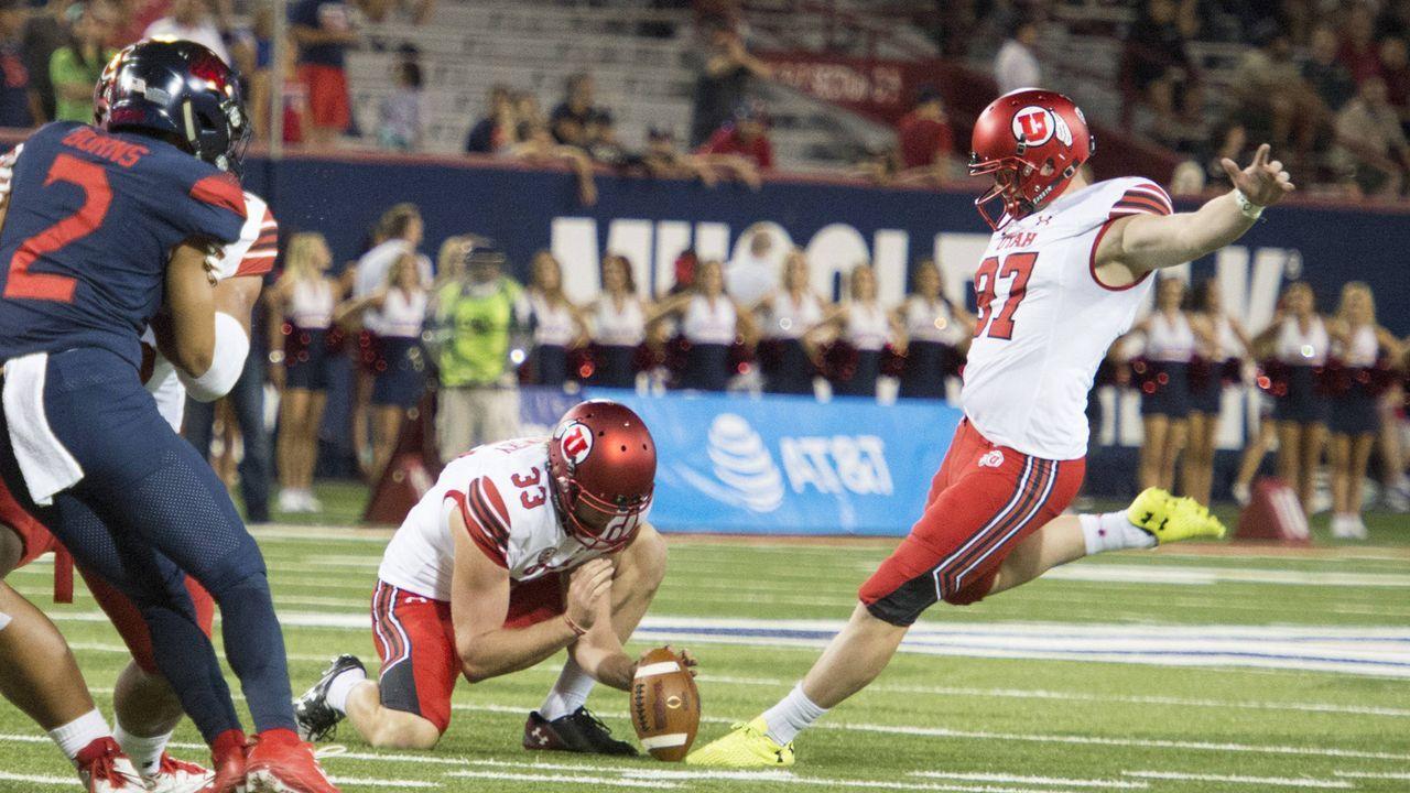 Kicker: Matt Gay (Utah) - Bildquelle: imago/ZUMA Press