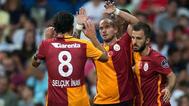 Galatasaray Istanbul - Bildquelle: 2015 Getty Images