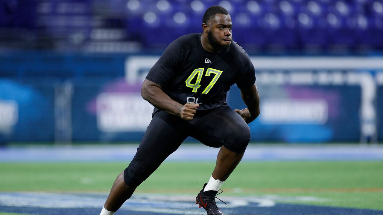 Andrew Thomas (Offensive Tackle, New York Giants) - Bildquelle: 2020 Getty Images