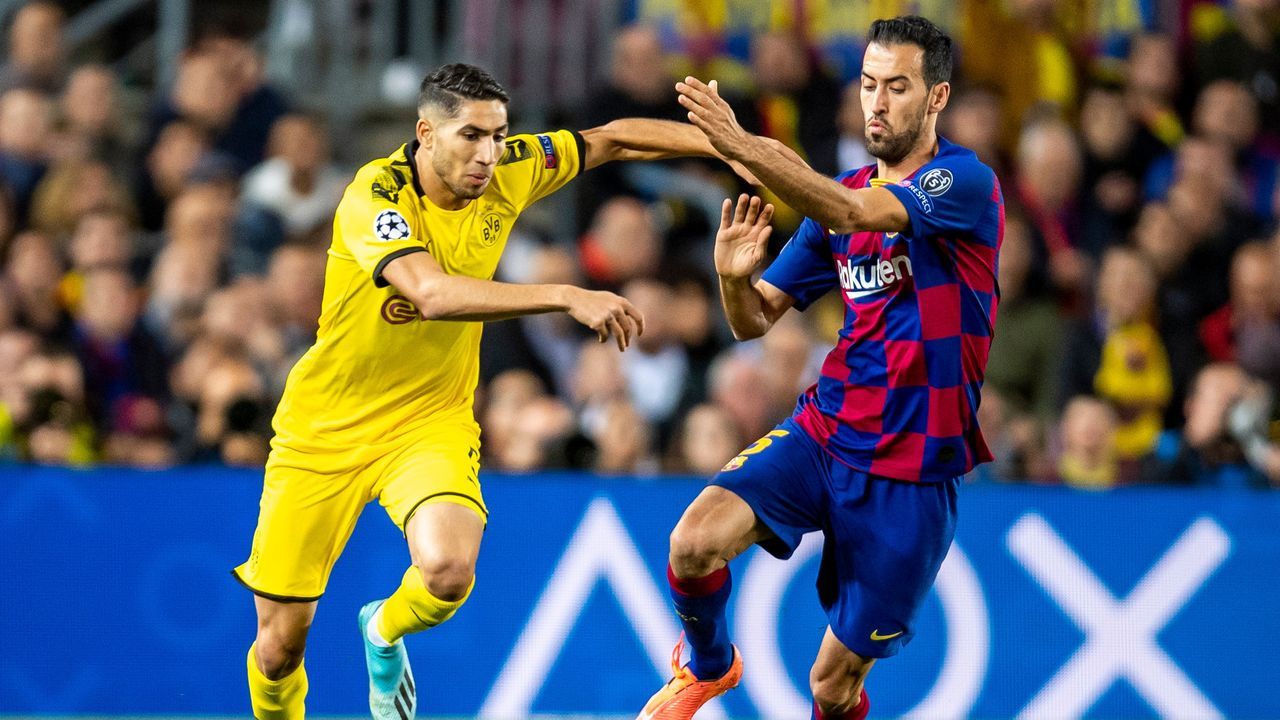 Achraf Hakimi (Borussia Dortmund) - Bildquelle: imago