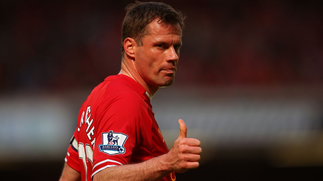 Platz 8 - Jamie Carragher - Bildquelle: 2013 Getty Images