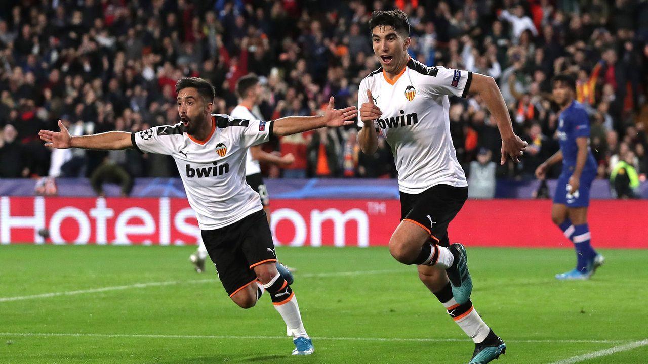 Platz 15: FC Valencia (gegen Atalanta Bergamo) - Bildquelle: 2019 Getty Images
