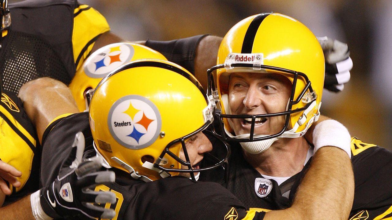 1. Duell: Steelers gewinnen nach Verlängerung - Bildquelle: 2008 Getty Images