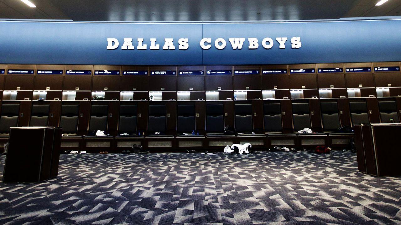 Allgemeine Sauberkeit in den Facilities - Bildquelle: twitter.com/NFL