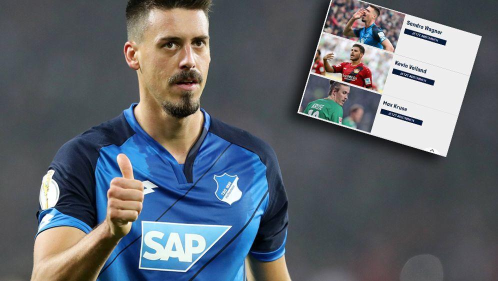 Ist Sandro Wagner der beste Stürmer Deutschlands? Stimmt ab! - Bildquelle: imago/Jan Huebner
