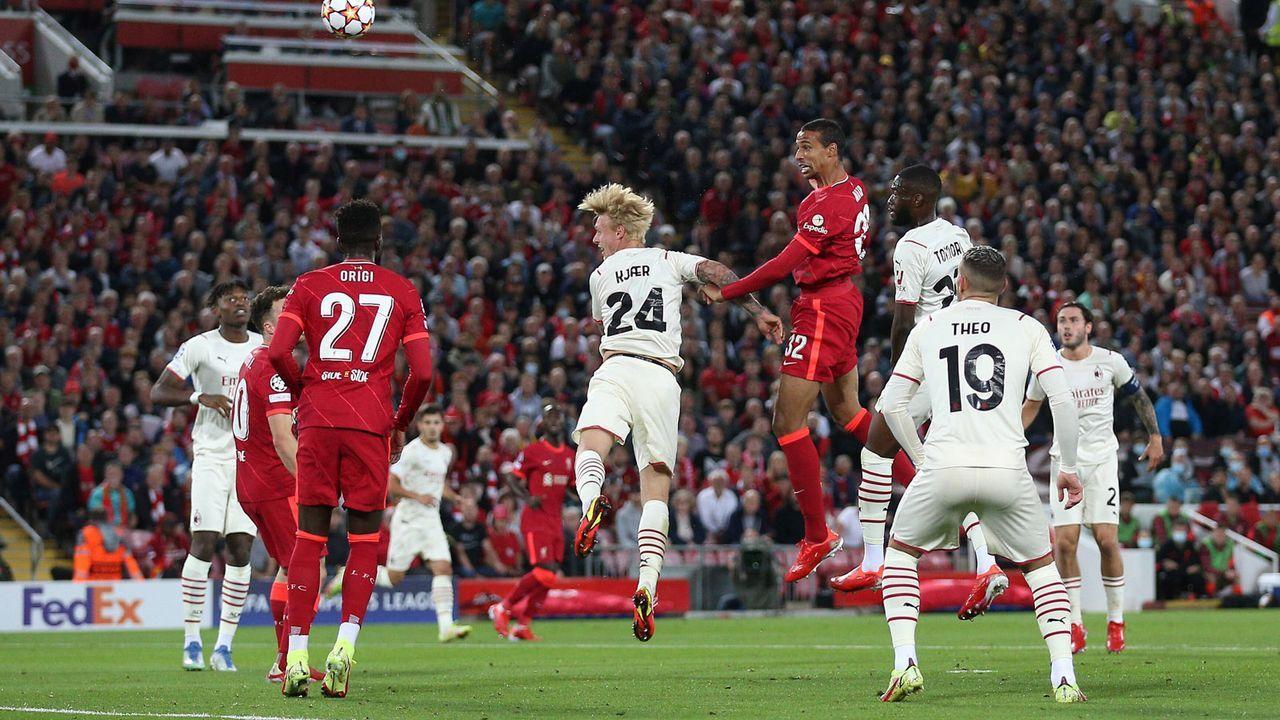 Liverpools Dominanz erdrückend - Bildquelle: 2021 imago