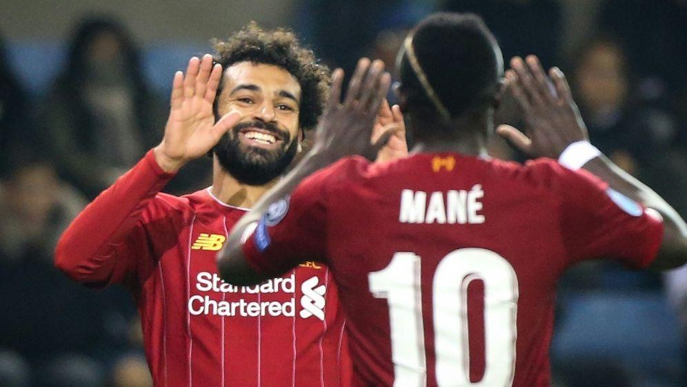 Der FC Liverpool bezwingt Aston Villa 2:0 - Bildquelle: AFPSIDFRANCOIS WALSCHAERTS