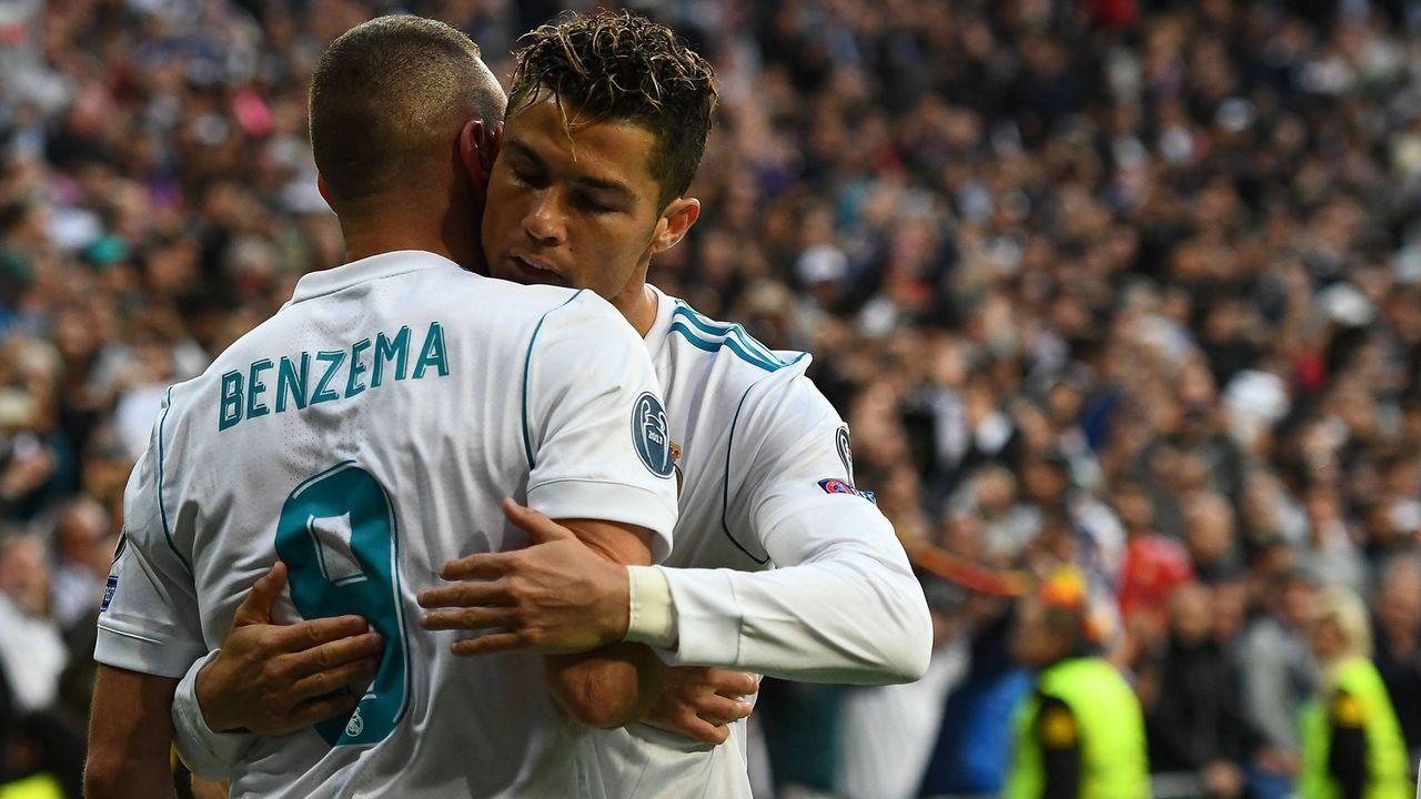 Cristiano Ronaldo und Karim Benzema (Real Madrid, Saison 2017/18) - Bildquelle: imago/Jan Huebner