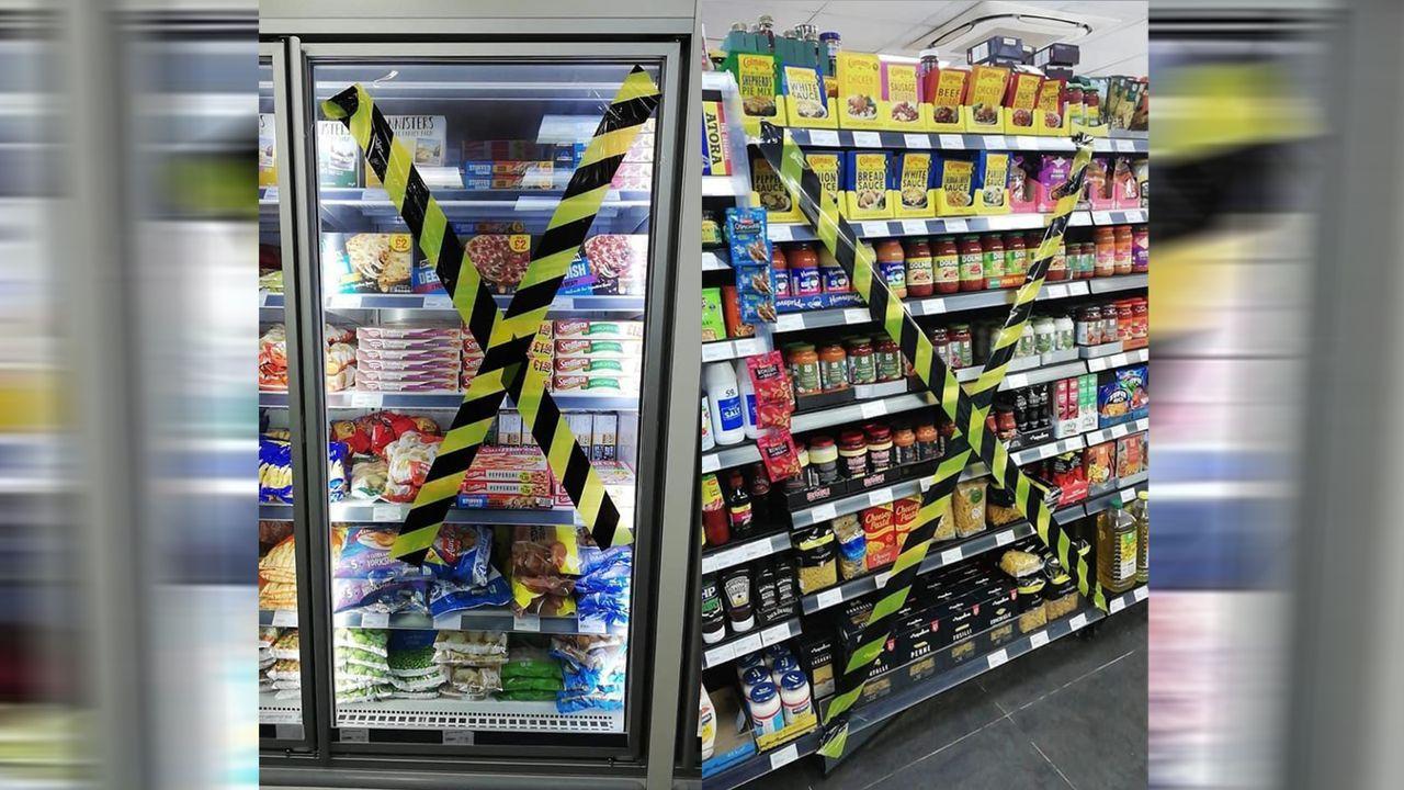 Vor EM-Finale: UK-Store stoppt Verkauf von italienischen Produkten - Bildquelle: twitter@alexkutd