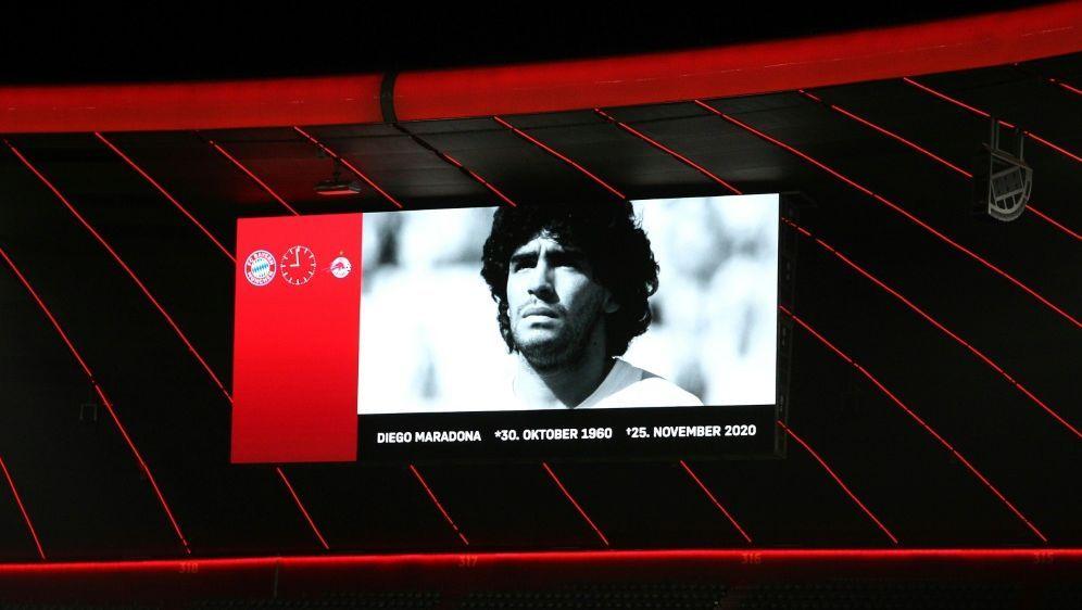 Schweigeminute für Maradona auch in der Bundesliga - Bildquelle: FIROFIROSID