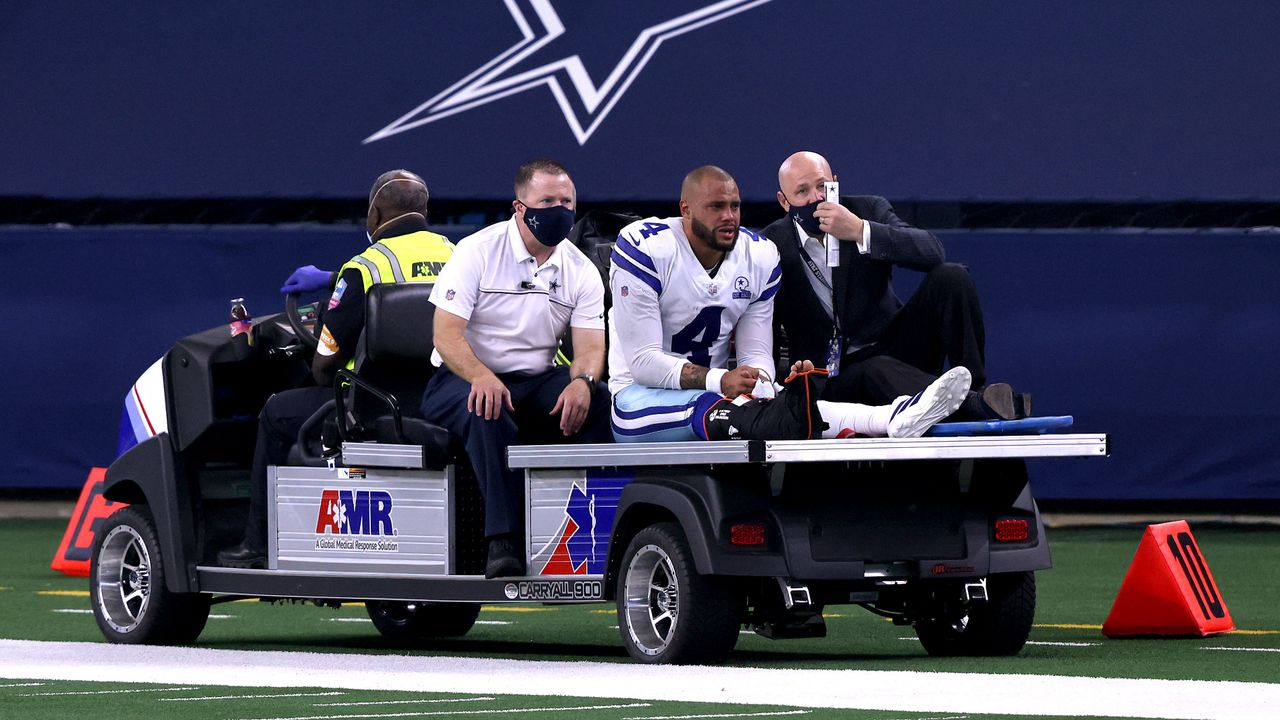 Dak Prescott (Dallas Cowboys) - Bildquelle: 2020 Getty Images
