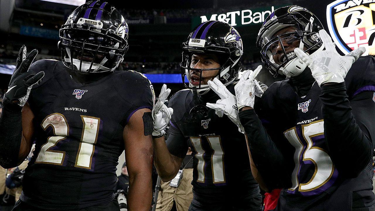 AFC Divisional Round: #1 Baltimore Ravens (Vorwoche #1) - Bildquelle: 2019 Getty Images