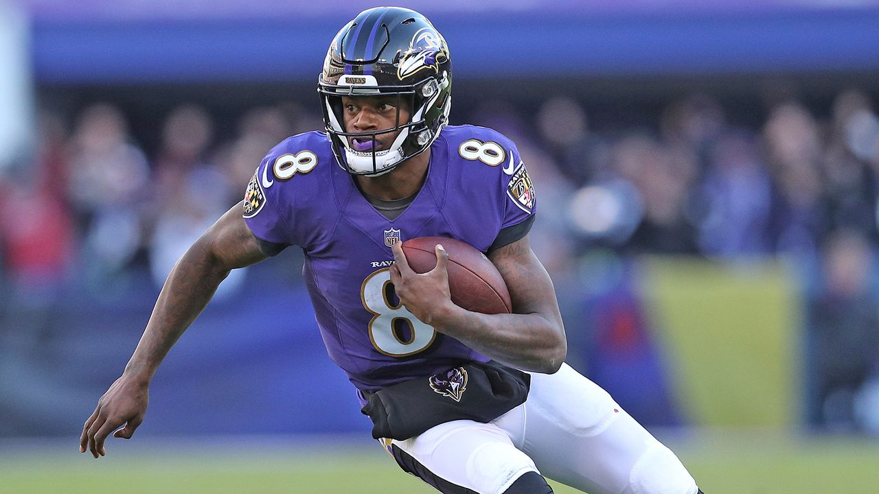 Lamar Jackson (Baltimore Ravens) - Bildquelle: 2019 Getty Images