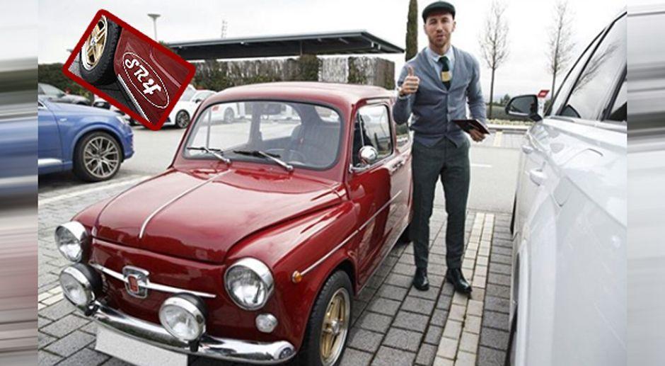 Geschenk des Bruders: Sergio Ramos fährt jetzt Fiat - Bildquelle: sergioramos/instagram