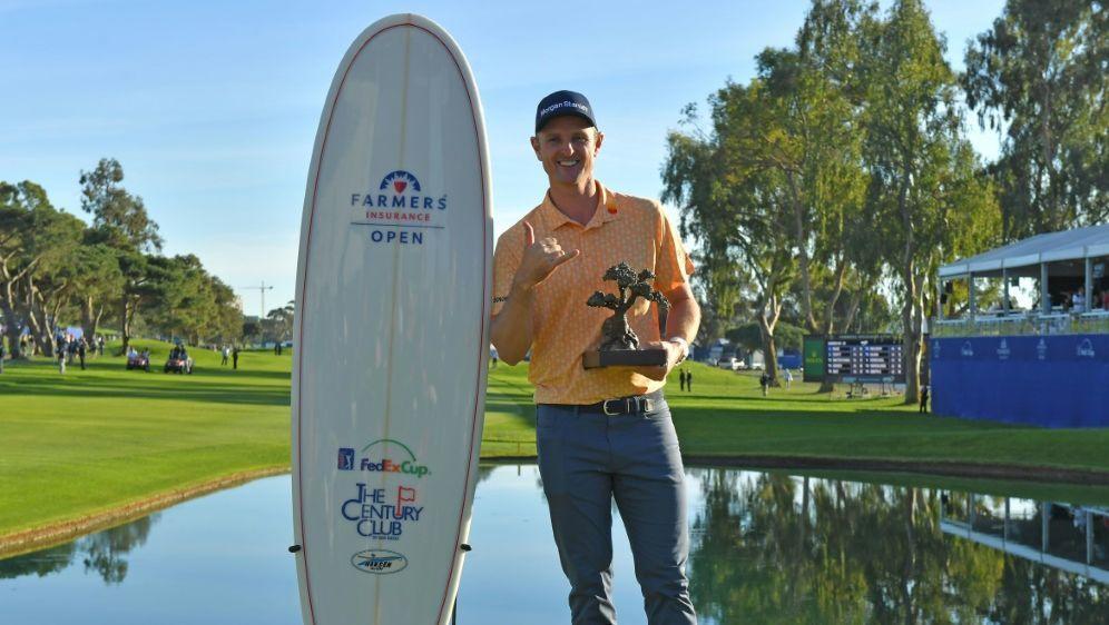Turniersieger Justin Rose - Bildquelle: GETTY AFPSIDDONALD MIRALLE