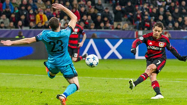 Chicharito in der Champions League - Bildquelle: imago/Eibner