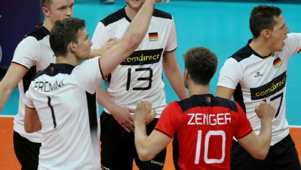 Deutschland gewinnt gegen Österreich - Bildquelle: CEVCEVCEV