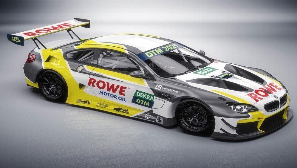 Mit ihrem BMW M6 GT3 steigt Rowe Racing 2021 in die DTM ein. - Bildquelle: Rowe Racing