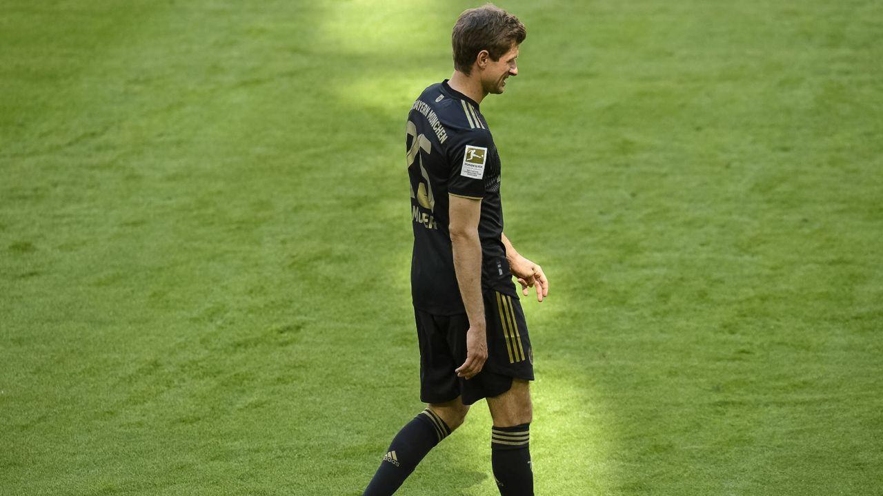 Platz 3 (geteilt): Thomas Müller (FC Bayern München) - Bildquelle: Imago