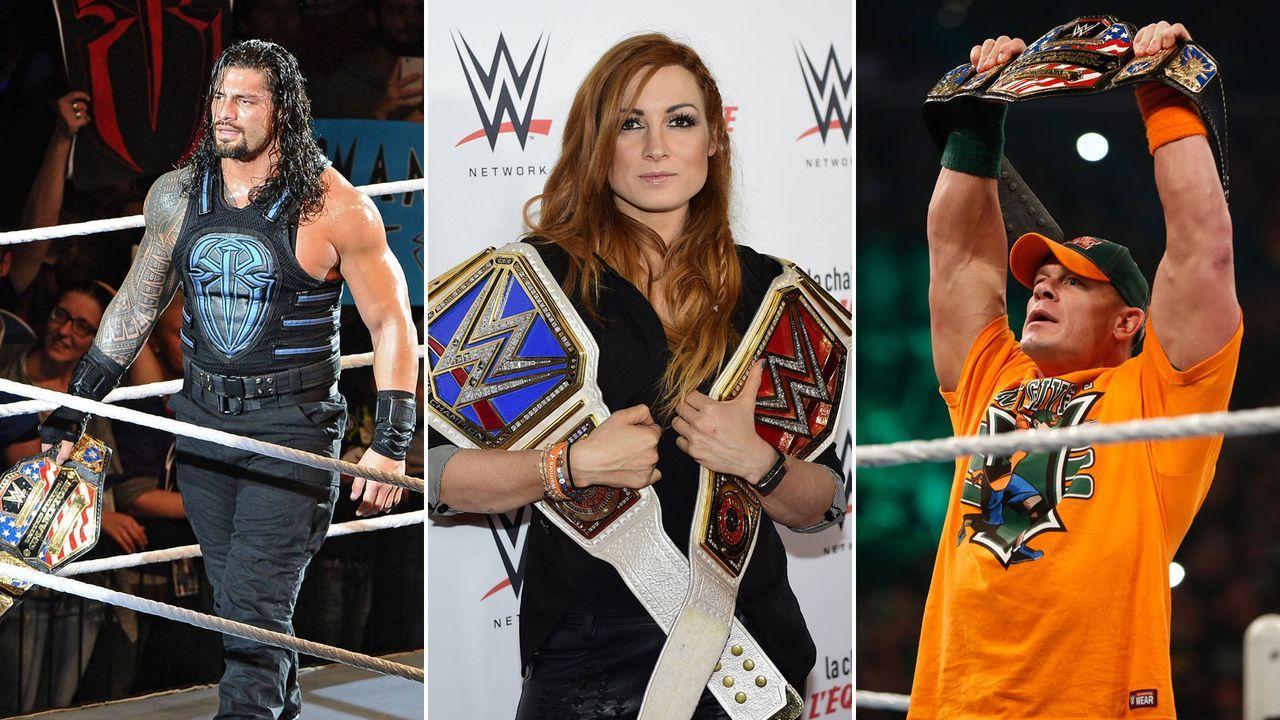 Die Berufe der WWE-Stars - Bildquelle: Getty Images/imago images