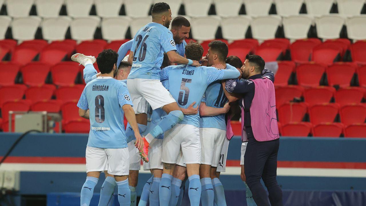 Platz eins: Manchester City - Bildquelle: 2021 Getty Images