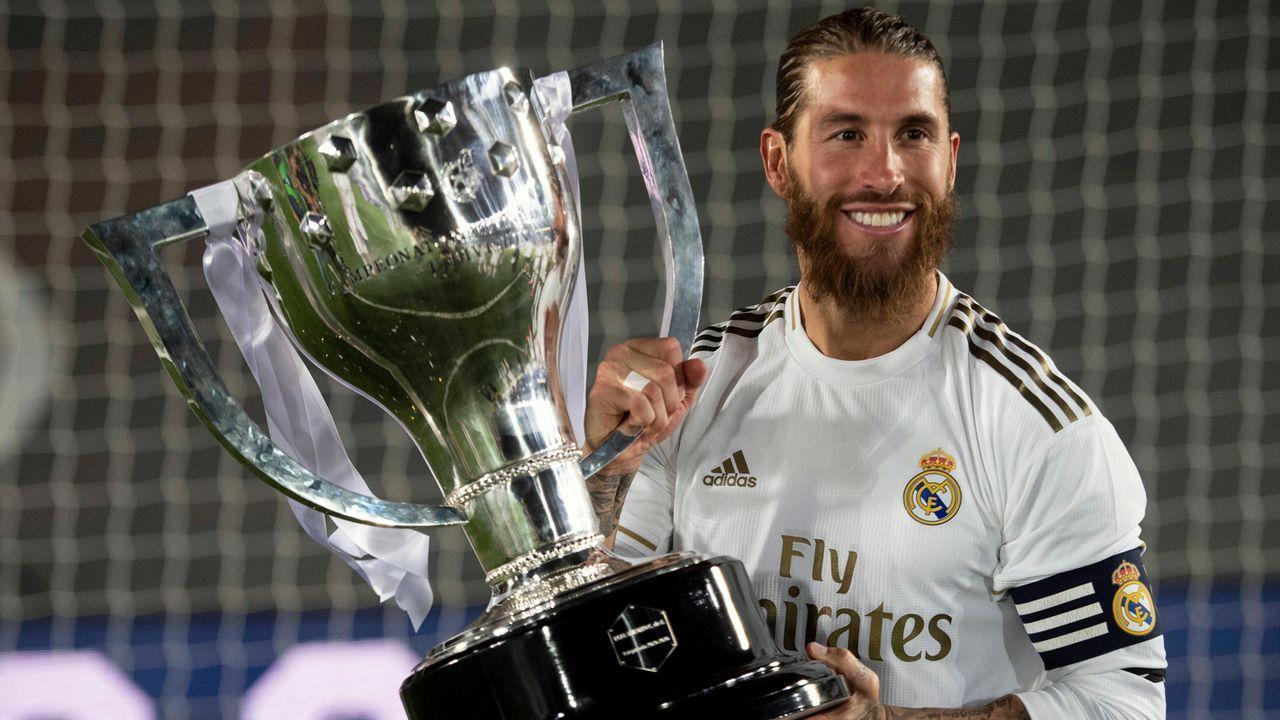 Sergio Ramos (Real Madrid) - Bildquelle: imago images/Cordon Press/Miguelez Sports