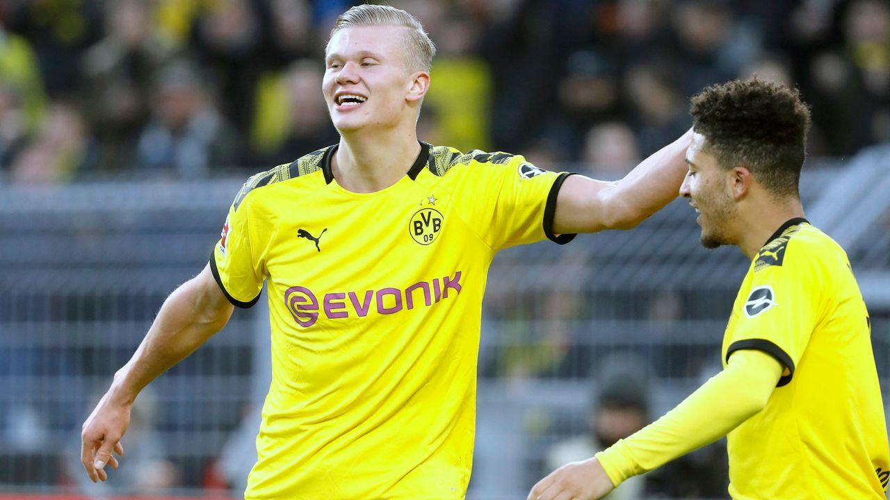 BVB-Jungstars Haaland und Sancho stellen neue Bestmarken auf - Bildquelle: imago images/Laci Perenyi