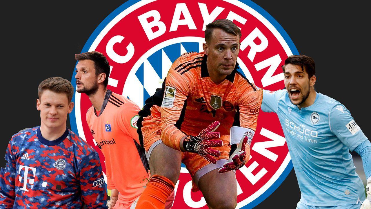 Das Torhüter-Karussell beim FC Bayern München - Bildquelle: imago images/PA Images