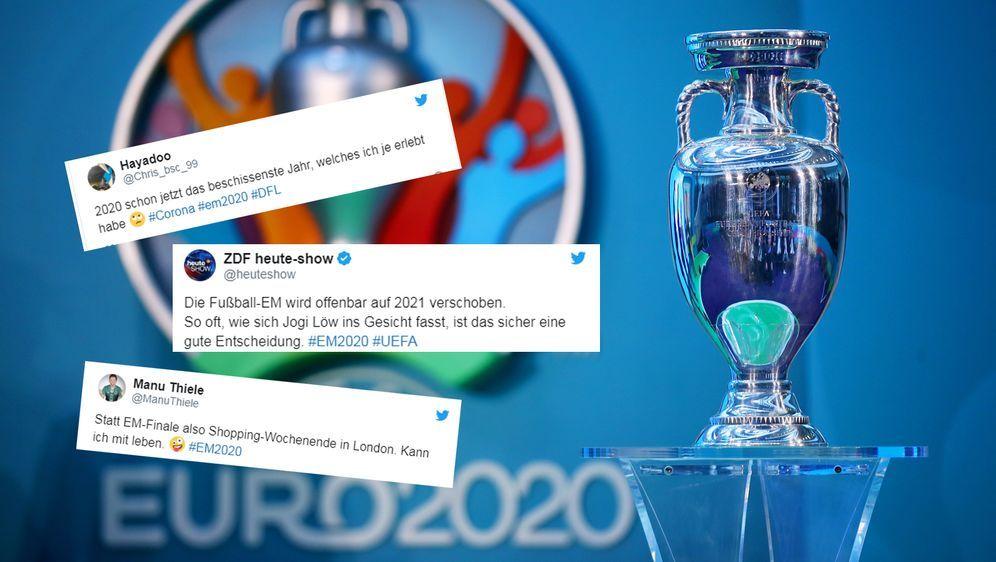 Im Netz gab es zur Verschiebung der EM 2020 die unterschiedlichsten Reaktion...