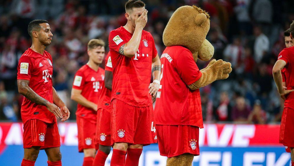 Bayern verpatzt den Auftakt gegen Hertha BSC. - Bildquelle: imago images / Eibner