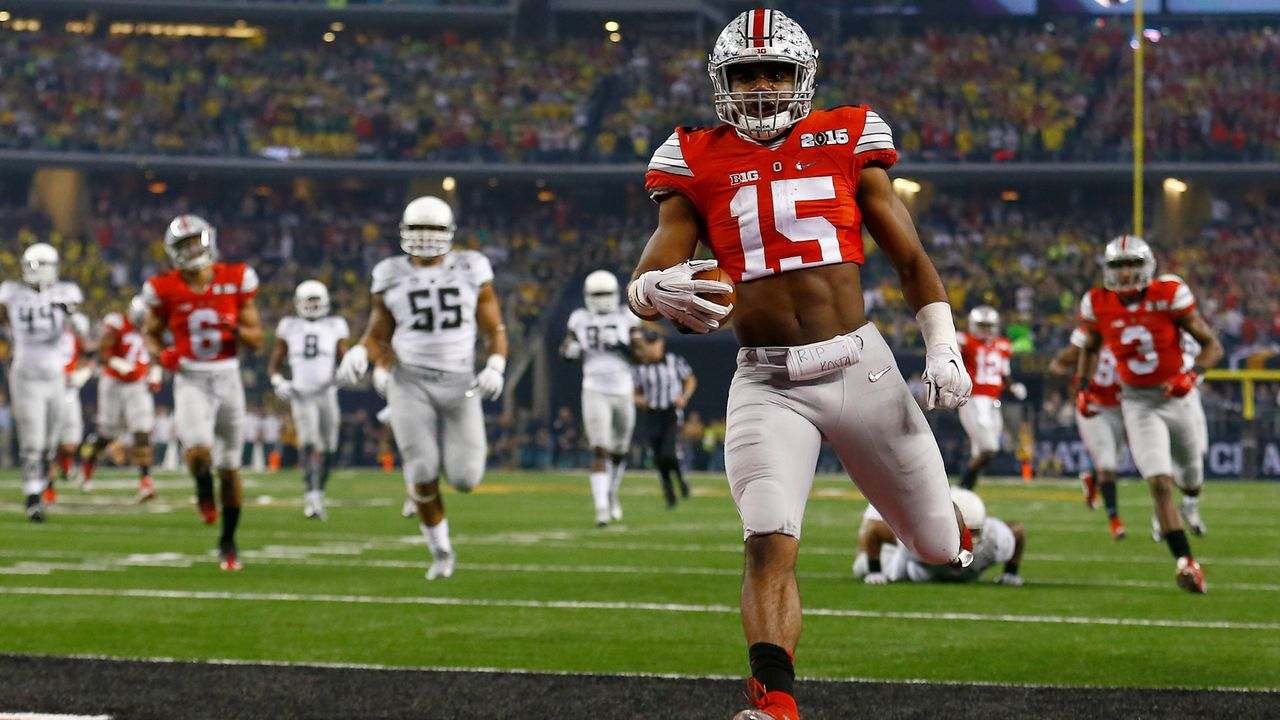 1. Ohio State Buckeyes - Bildquelle: 2015 Getty Images