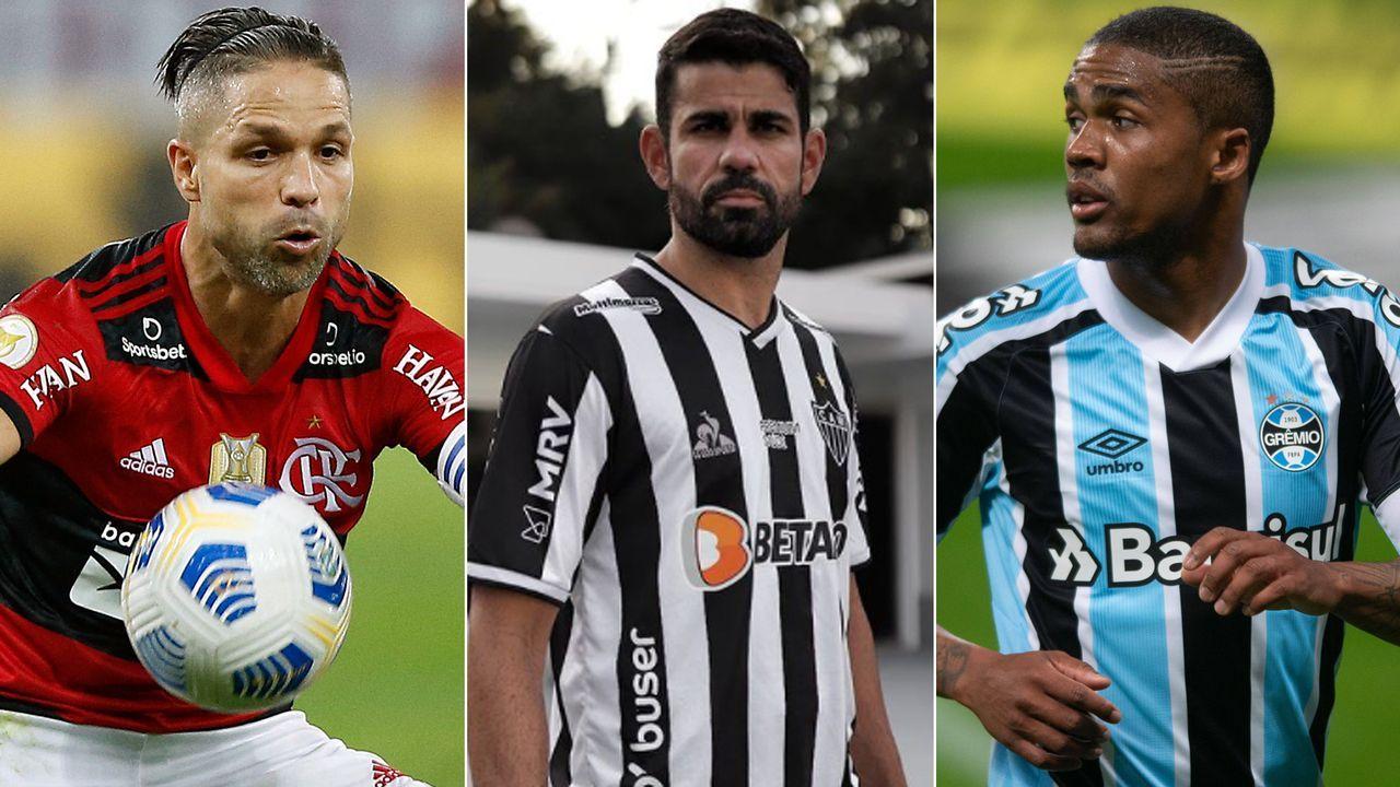 Diego Costa und Co.: Die Stars der brasilianischen Serie A - Bildquelle: Getty Images/Imago/instagram@atletico