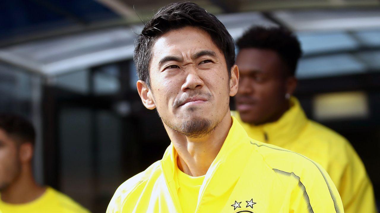 Shinji Kagawa (Borussia Dortmund) - Bildquelle: 2018 Getty Images