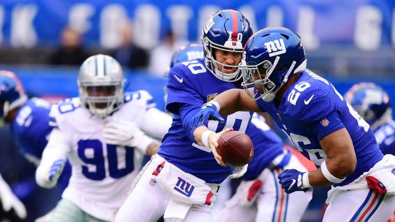 Platz 23: New York Giants - Bildquelle: 2018 Getty Images