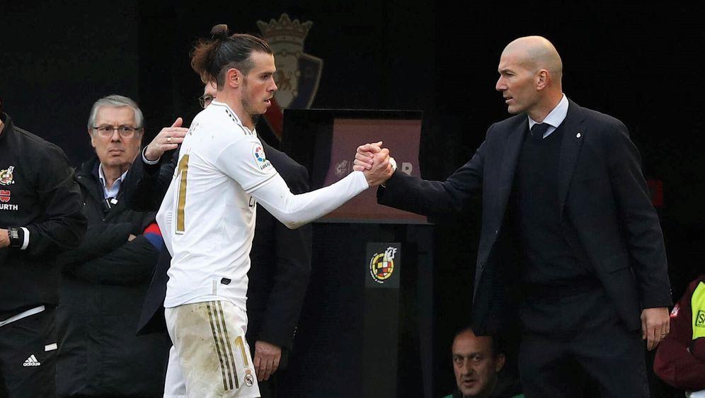 Gareth Bale und Zinedine Zidane von Real Madrid - Bildquelle: imago images