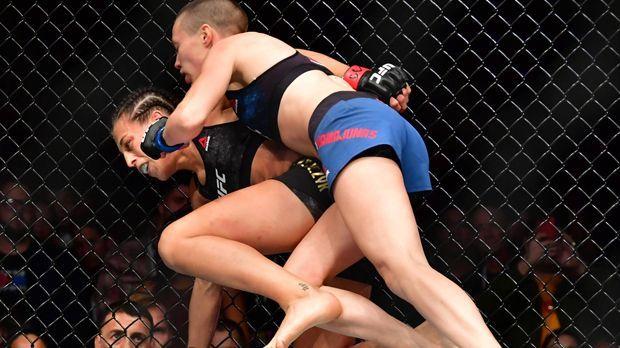 Platz 8: Rose Namajunas vs. Joanna Jedrzejczyk - Bildquelle: imago/ZUMA Press