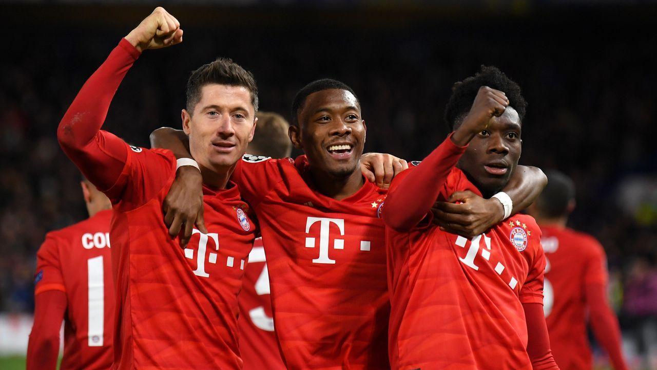 FC Bayern München - Bildquelle: Getty