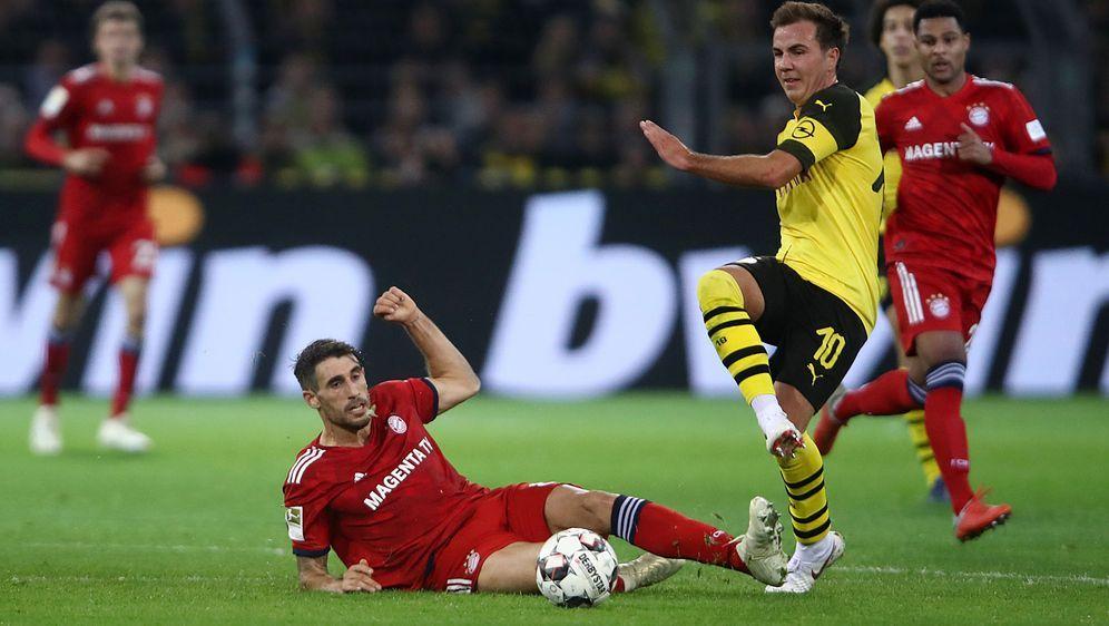 Wiedersehen in der Allianz Arena: Javi Martinez (l.) und Bayern München empf... - Bildquelle: Getty Images