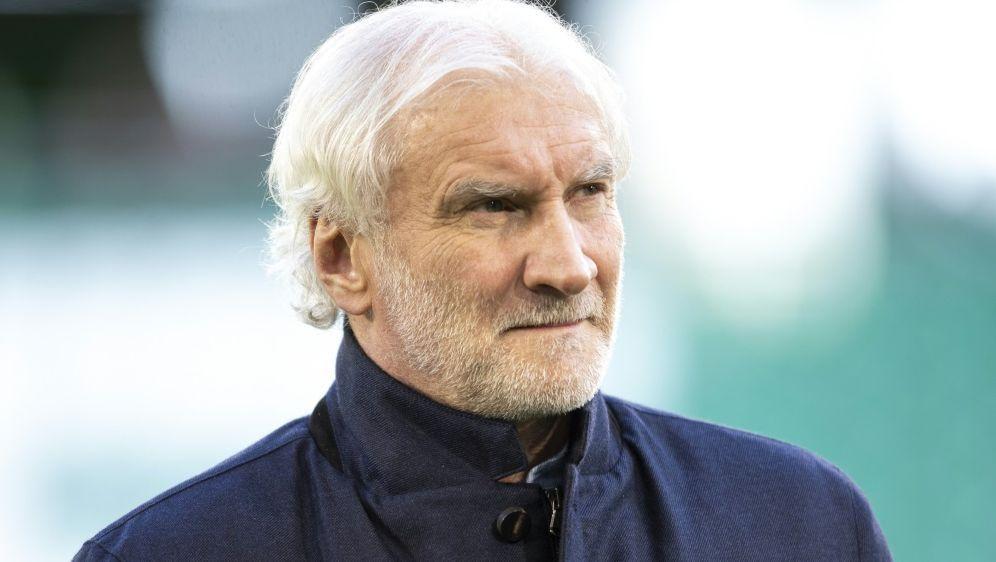 Bayer-Geschäftsführer Rudi Völler fordert Sieg in Moskau - Bildquelle: FIROFIROSID