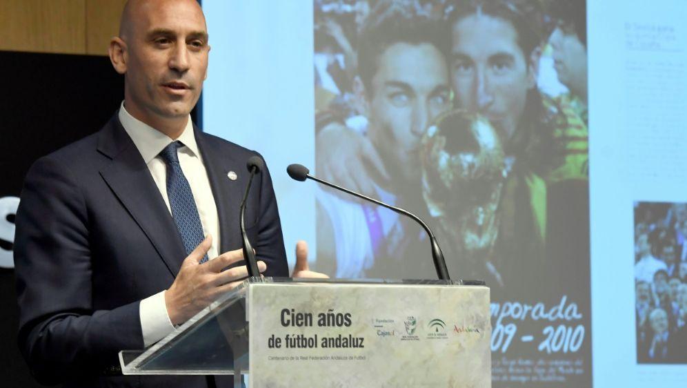 Präsident des spanischen Verbands RFEF: Luis Rubiales - Bildquelle: PIXATHLONPIXATHLONSID